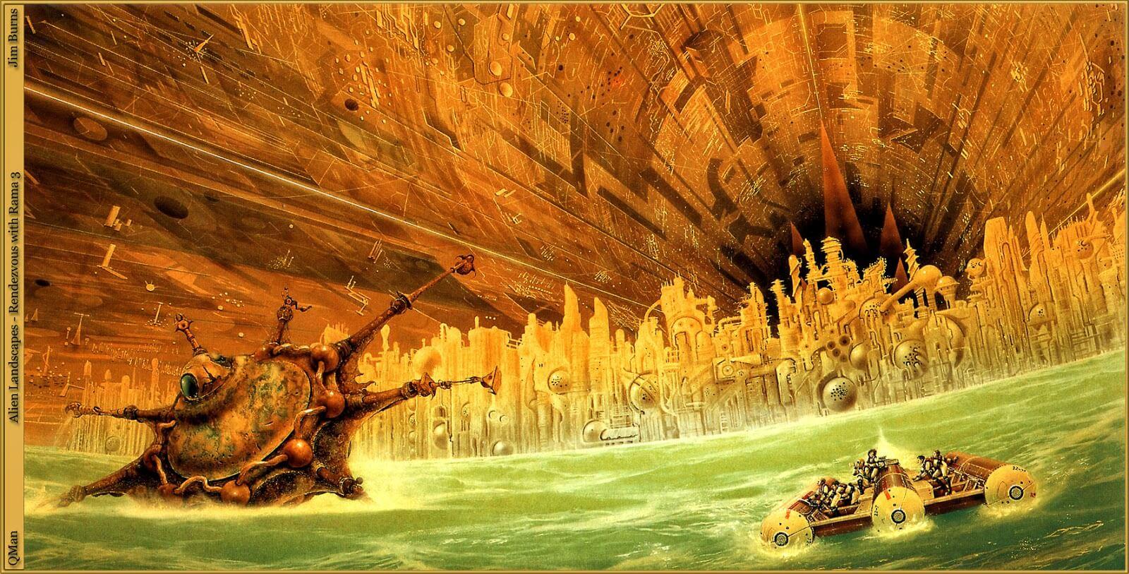 Cita con Rama es un clásico del género de la ciencia ficción escrito por Arthur C. Clarke en 1973.